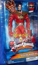 """Power Rangers Dino Thunder Triassic 12"""" Ranger Talking New Removable Helmet 2003"""