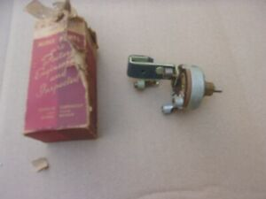 1940-1948 NOS MoPar Windshield Wiper SWITCH Chrysler Dodge Desoto Chryco