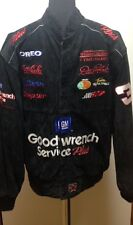 Dale Earnhardt Sr - Goodwrench Plus Chase Authentic Leather Jacket, Mens Size L