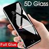 5D Gorilla Full Coverage & Glue Tempered Glass For Apple iPhone8 PLUS-BLACK-2018