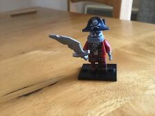 Lego Series 14 Zombie Pirate Minifigure- col14-2 With Stand and Accessory