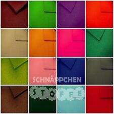 Filzstoff Farbwahl 15 Farben Textilfilz ca. 5mm Bastelfilz Filz Stoffe Basteln