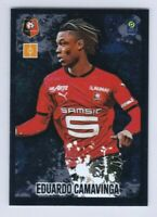 2020 2021 Panini Foot Ligue 1 Sticker Eduardo Camavinga Stade Rennais #P7 2nd RC