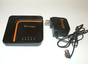 Vonage Home VoIP Phone Service Adapter VDV23-VD With Power Adapter