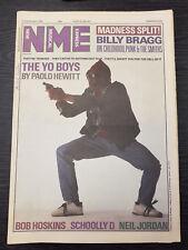 New Musical Express Feat Billy Bragg, Bob Hoskins, Madness: 13th September 1986