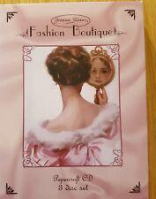 Joanna Sheen Fashion Boutique Papercraft CD 3 Disc Set
