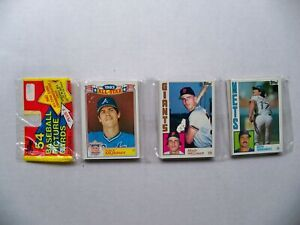 1984 Topps Baseball Rack Pack Dale Murphy All Star Keith Hernandez