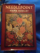 Needlepoint by Hope Hanley Hardcover with Dust Jacket 1964