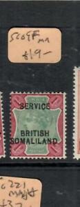 SOMALILAND  (PP0807B)  QV  SERVICE  1R SG O9F     MOG