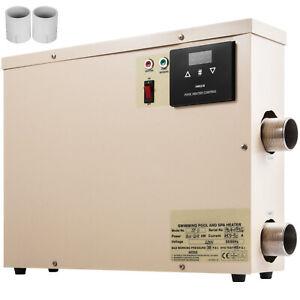 11KW Réchauffeur Electrique Pour Piscine Spa Chauffage Massage Pompe à Chaleur