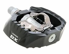 New Shimano DX PD-M647 SPD 9/16 Dual Sided Black MTB Mountain Bike Cleat Pedals