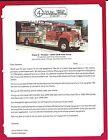 Fire Equipment Brochure - 4 Guys - Pumper Tanker - 2 items (DB275)