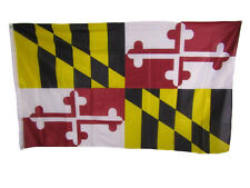 3x5 State of Maryland Knitted Nylon Flag 3'x5'  Banner Brass Grommets