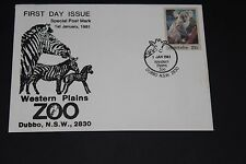AUST 1981 SCARCE WESTERN PLAINS ZOO SOUVENIR COVER KOALA