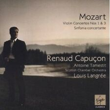 "RENAUD/LANGREE/SCO CAPUCON ""VIOLINKONZERTE 1 & 3"" CD NEU"