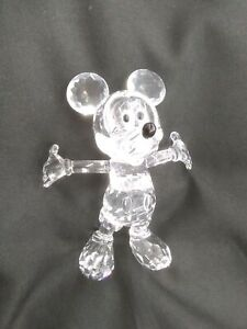 SWAROVSKI Figurine Disney Showcase Collection Crystal Mickey Mouse Rare