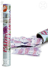 Canon à Confettis billets en euro Papier de soie une pluie de sous [4169] fetes
