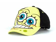 Spongebob Square Pants Happy As A Clam Vinyl Hat Cap Toddler Adjustable