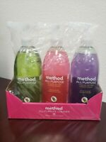 Method All Purpose Cleaners Pack of Three Lime, Grapefruit, & Lavender 28 OZ