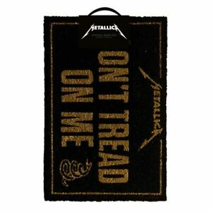 Metallica Don't Tread On Me Doormat Welcome Entrance Mat - Homewear