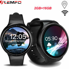 LEMFO I4Pro Bluetooth Smart Watch 3G SIM WiFi GPS 16GB Phone For Android iPhone