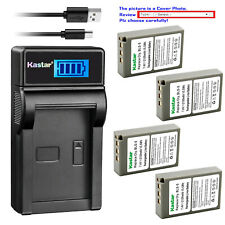 Kastar Battery LCD USB Charger for Olympus BLS-5 & Olympus E-PM1 EPM1 Camera