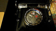 RITMO MUNDO Men's 221 INDYCAR Series Black Stainless Steel Watch With Strap!!!!