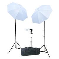 JIAYUXI0 Photography Photo Portrait Studio 600W Day Light Umbrella Lighting Kit