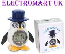 Réflexe prenant Penguin LCD Digital Alarme Horloge