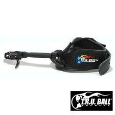 T.R.U. Ball Archery Black XL Std Jaw Buckle Bandit Release - Ships Free USA