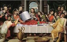 Last Supper # 11 - 8 x 10 Tee Shirt Iron On Transfer crawfish boil