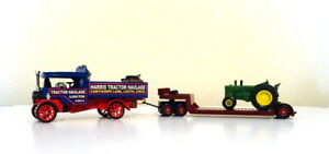 MATCHBOX MOY CODE 3 FODEN STEAM WAGON LOUTH TRACTOR HAULAGE WITH TRACTOR LOAD