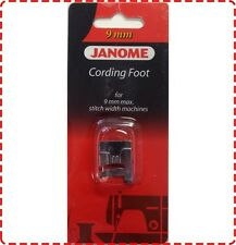 Janome Cording Foot 9mm - Clip On Skyline MC8200 MC8900 MC9900 MC12000 MC15000