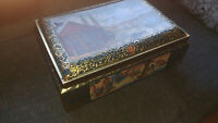 E Otto Schmidt Nurnberg Large Collectible Biscuit Tin Box 1992-Made In Germany