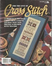For The Love Of Cross Stitch - September 1995 - Volume 8, Number 2
