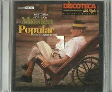 Historia De La Musica Popular En Siglo XX Latin Music CD New
