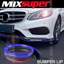 MIXSUPER Rubber Bumper Lip Splitter Chin Spoiler EZ Protector BLUE for Subaru