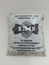 $150 Shredded Cash Money Shreddings US Dollar Old Currency Collectible Collector