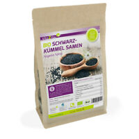 Vita2You Bio Schwarzkümmel Samen 1kg - Ägyptischer Schwarzkümmelsamen