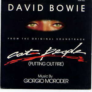 DAVID BOWIE -  Cat people (putting out fire) - 7'' (45 tours) -