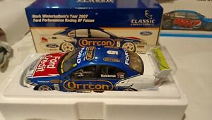 Mark Winterbottom FPR 2007 Ford BF Falcon V8 Supercars Classic Carlectables 1:18
