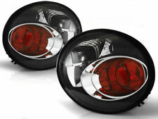 Black clear color finish tail rear lights for VW Beetle 98-05