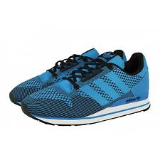 ADIDAS ORIGINALS ZX 500 OG WEAVE Trainer Sneakers MENS 11.5 RUNNING BLUE BLACK