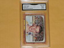 1966-67 Topps Reprint Rookie Hockey Card # 35 Bobby Orr GRADED 10 GEM-MT