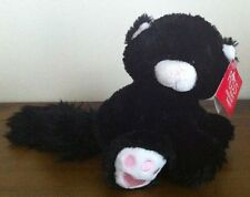 Russ Black Cat Soft Plush Stuffed Toy Called Tom Medium