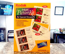 "Kodak Inkjet Picture Kit Picture Cards White 3.4""x 7"" - Envelopes, Free Shipping"