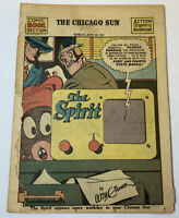 June 20, 1943 Chicago Sun SPIRIT SECTION ~ Will Eisner