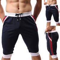 Men Sport Gym Jogger Casual Shorts Pants Trousers Run Athletic Apparel