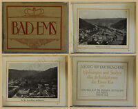 Orig. Werbeprospekt Bad Ems 1912 Rheinland Palz Ortskunde Landeskunde Kurort xy