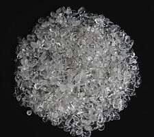 100g Bulk Natural Tumbled Clear Quartz Small Size Reiki Healing Crystals